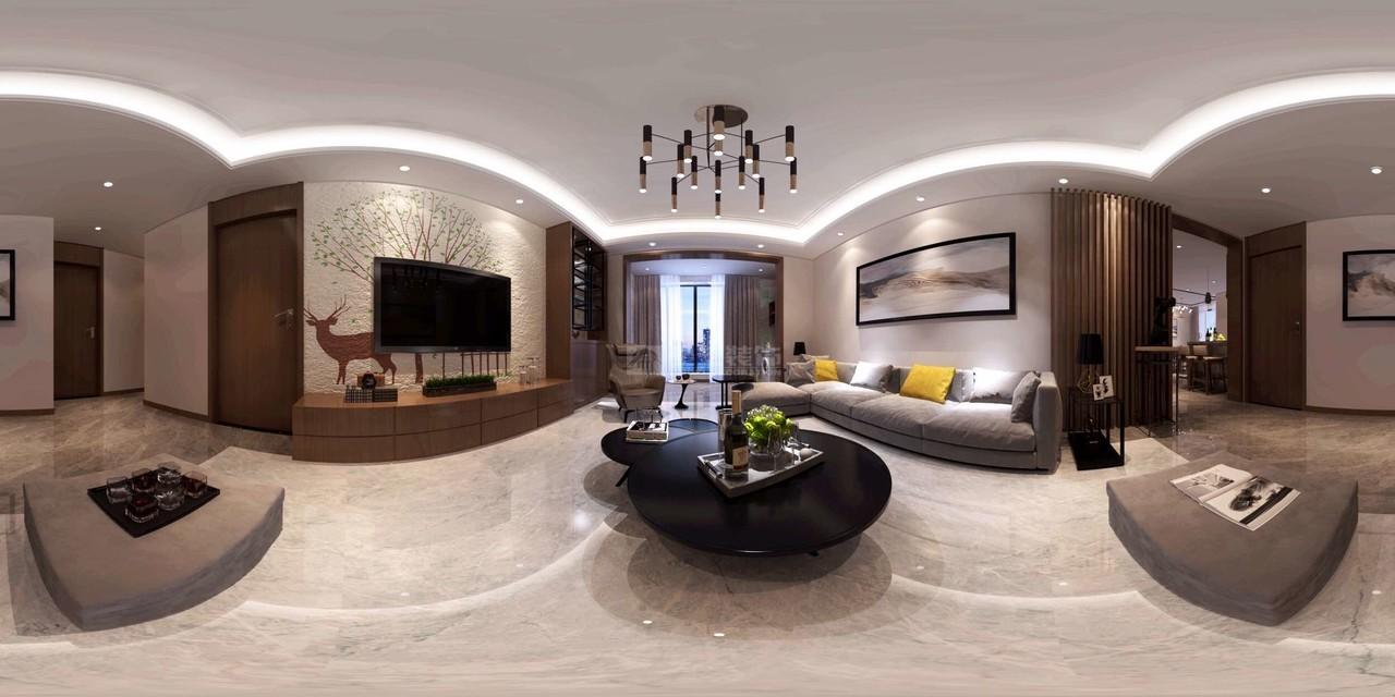 远大美域现代,韩式,单身公寓,130.0㎡