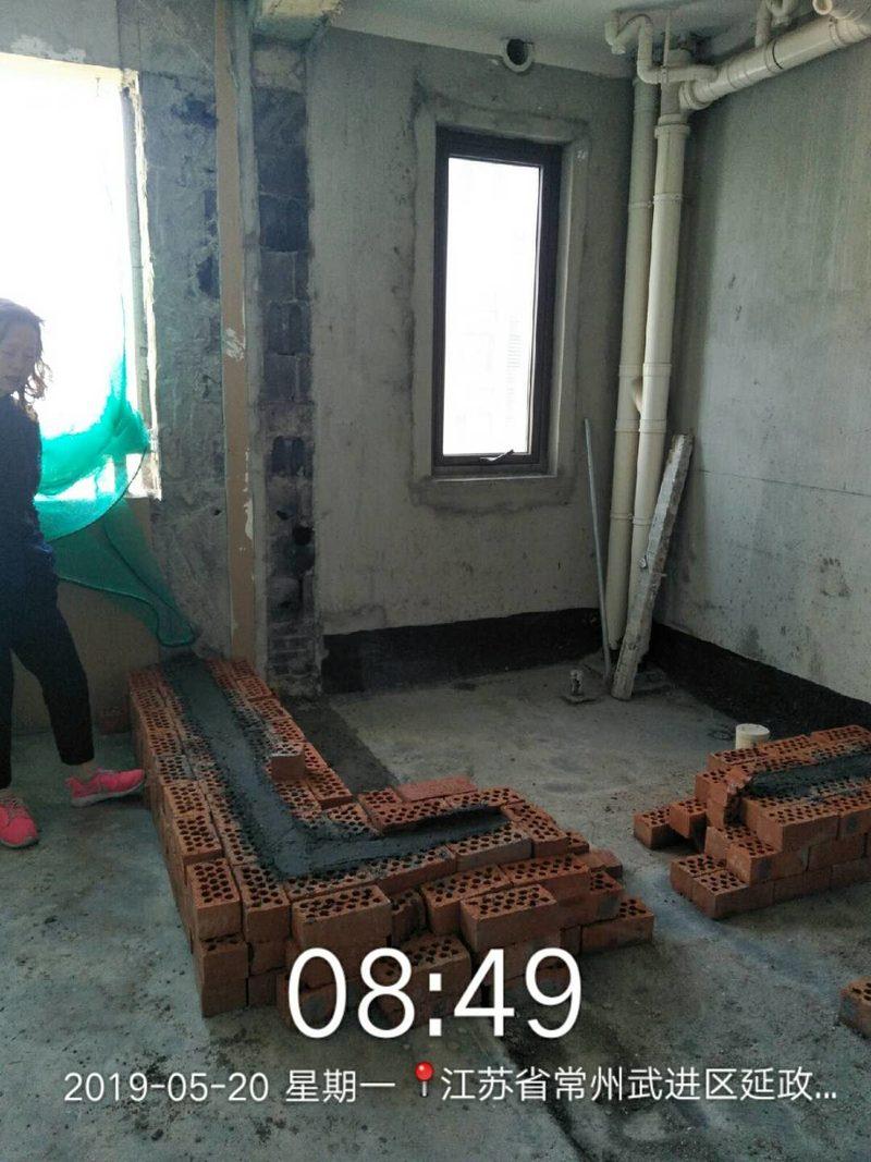 泥工材料进场,施工交底