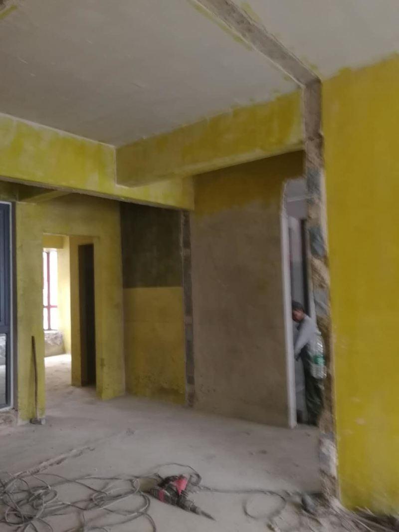 工地保护和拆改工艺施工
