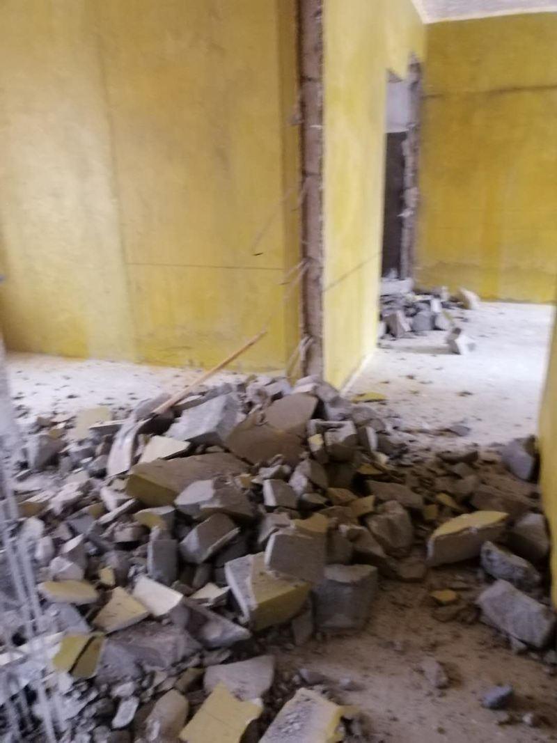 泥工砌墙拆墙