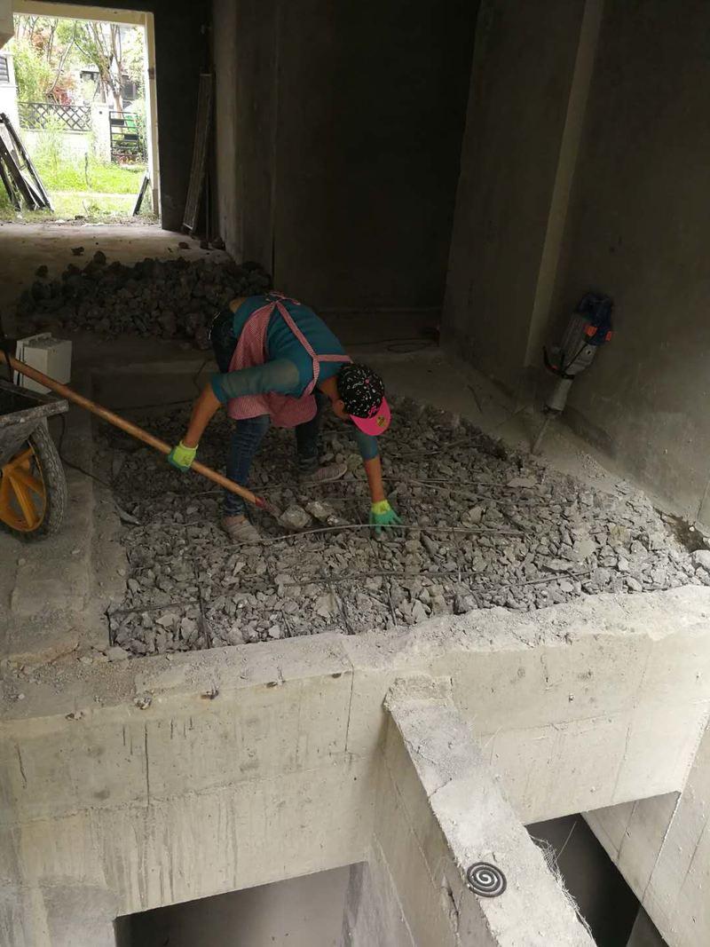 拆改、加建工程施工