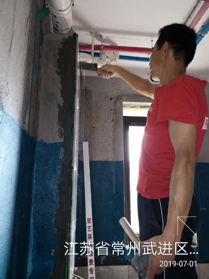贴厨卫墙砖