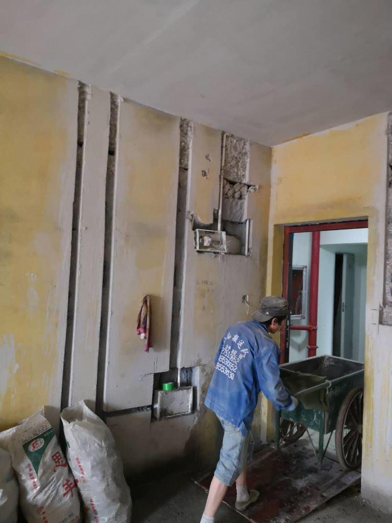 保护、砌墙、修补工程施工