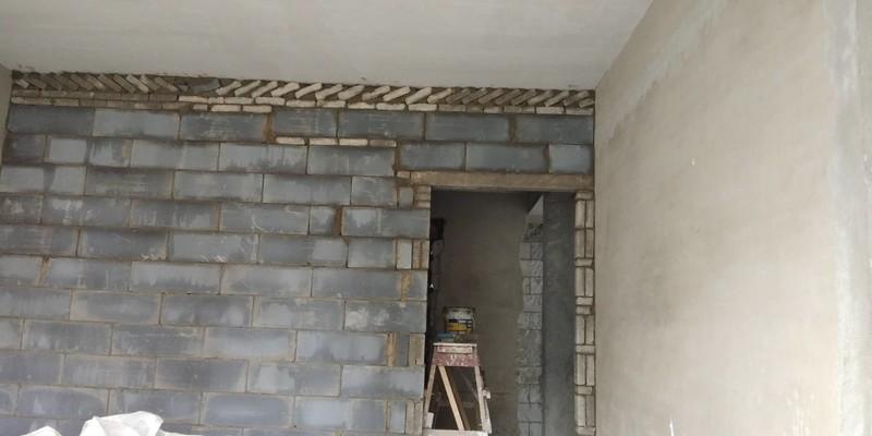 砌墙、修补工程施工