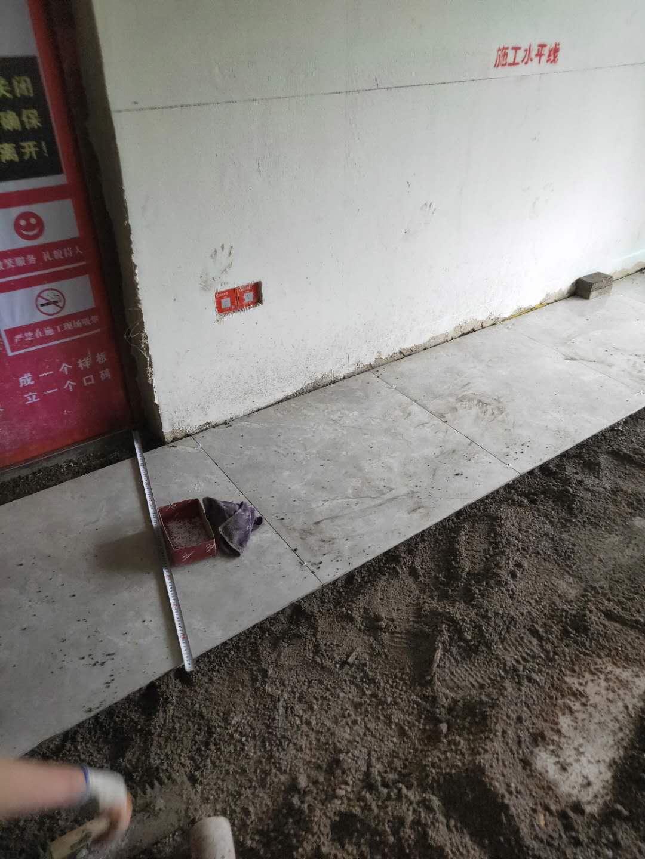地砖墙砖的铺贴