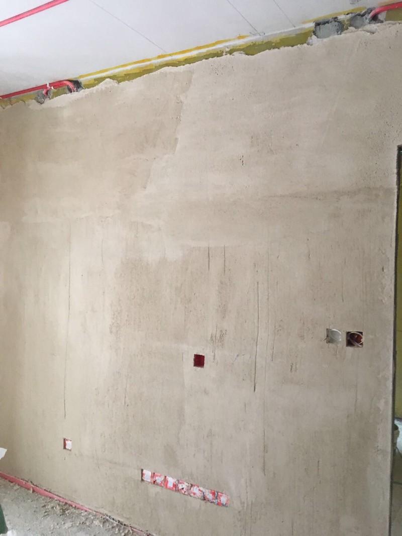 墙面石膏找平