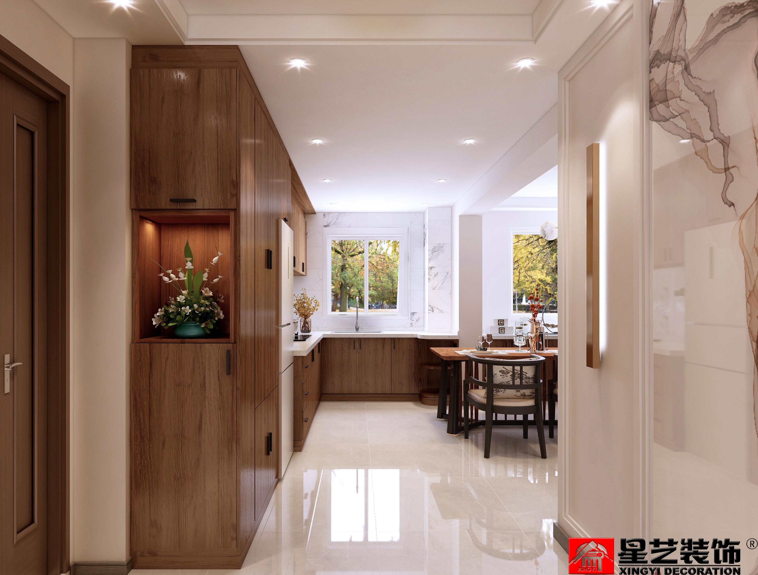 中冶蓝城三期,中式,一居室,74.0㎡
