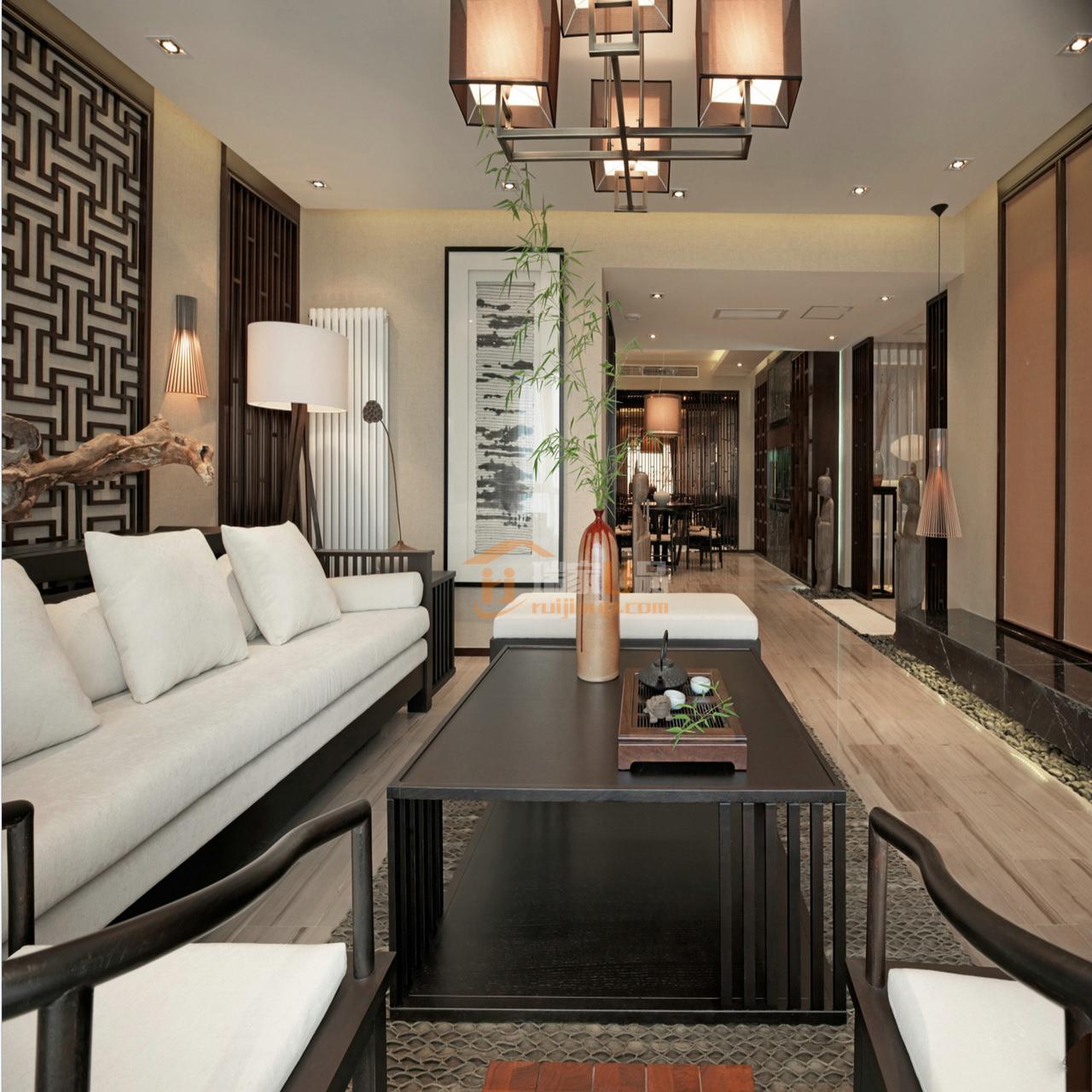 新中式风格家具大多是古典家具或者是现代家具与古典家具相结合。