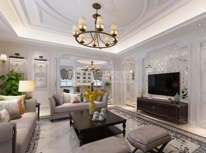 大连别墅装修,红星海鼎墅别墅设计,大连别墅设计