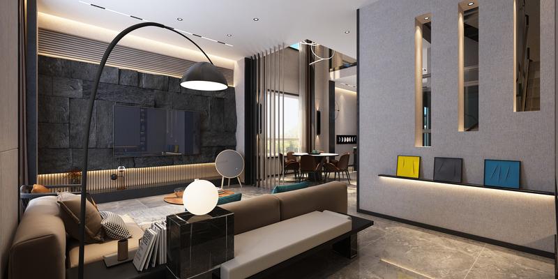 大连普罗旺斯别墅,大连装修设计,现代风格,大连装修案例,大连装修效果图,大连装修设计方案