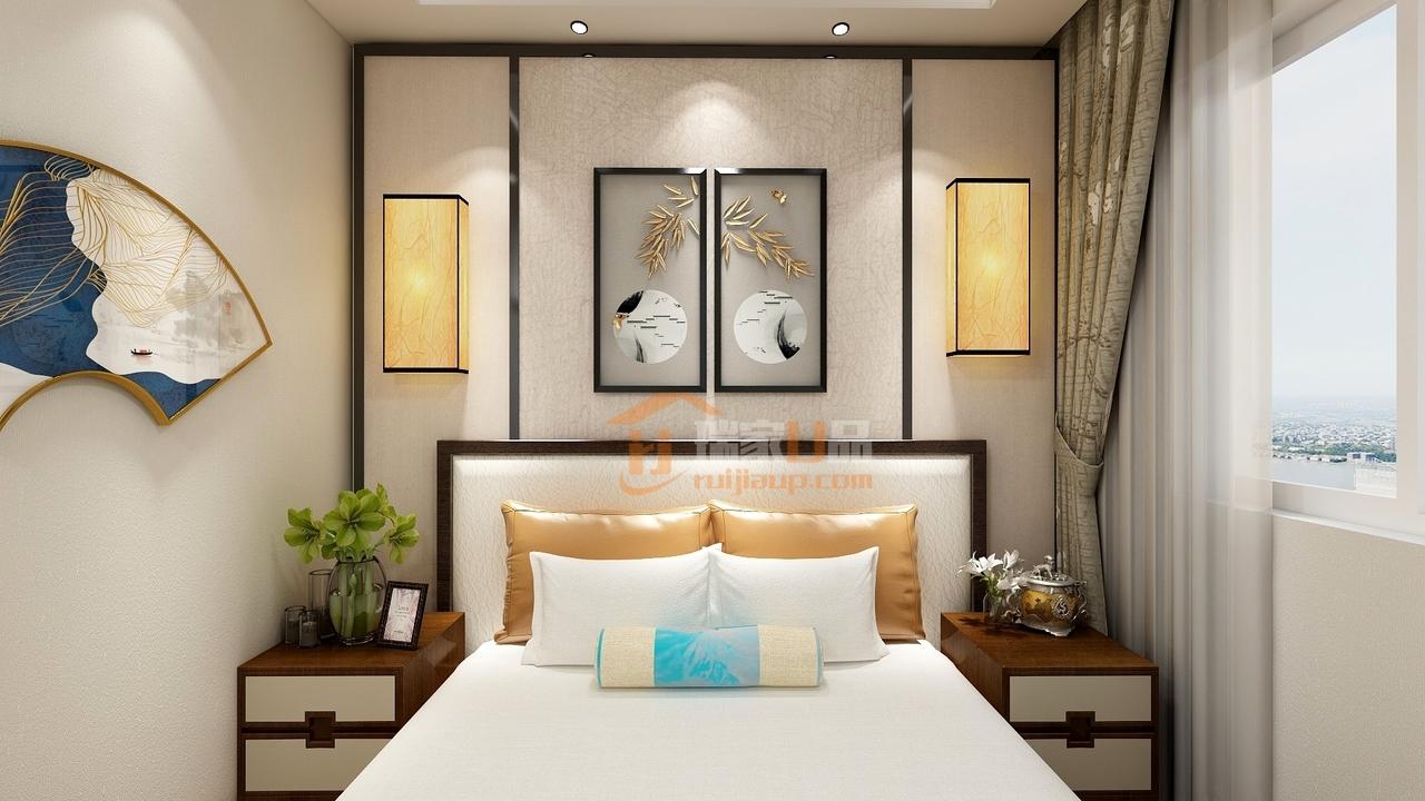 很有艺术气息的卧室设计
