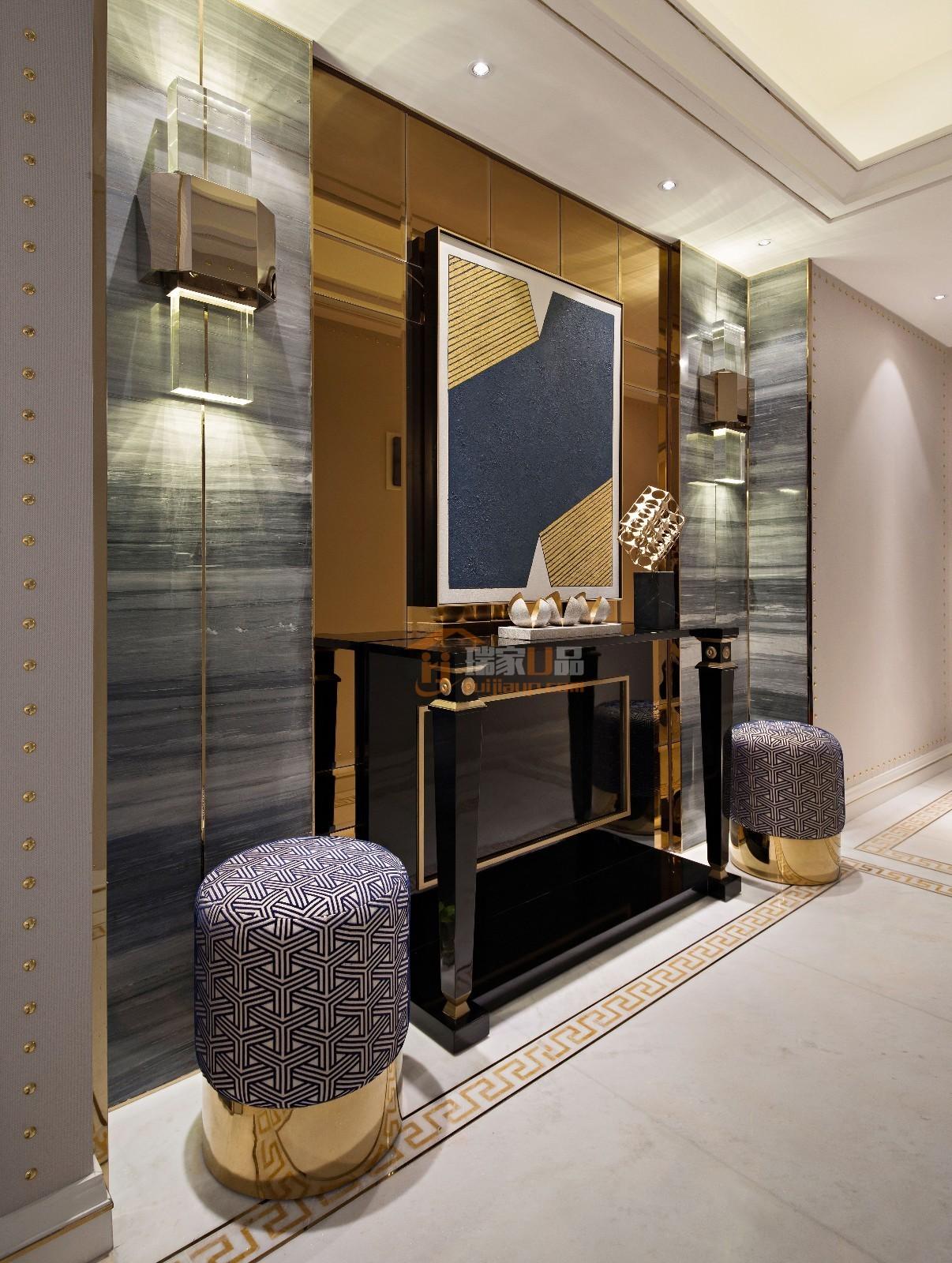 轻奢极简空间设计满足社会精英对空间环境那种感性的,本能和理性的要求 ,轻奢极简的设计极力将