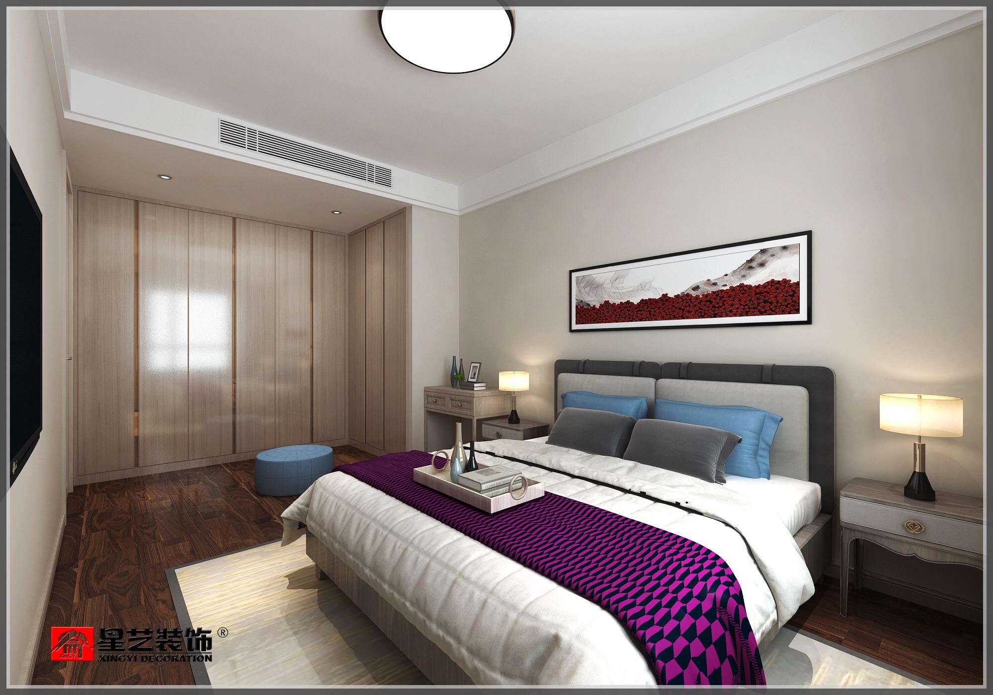 大连装修星海长岛——卧室效果图