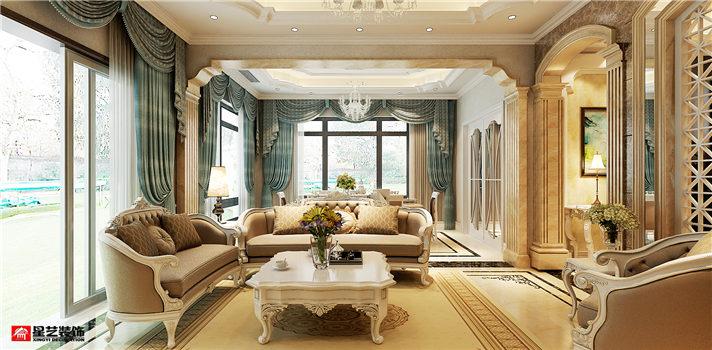 大连别墅装修新古典风格