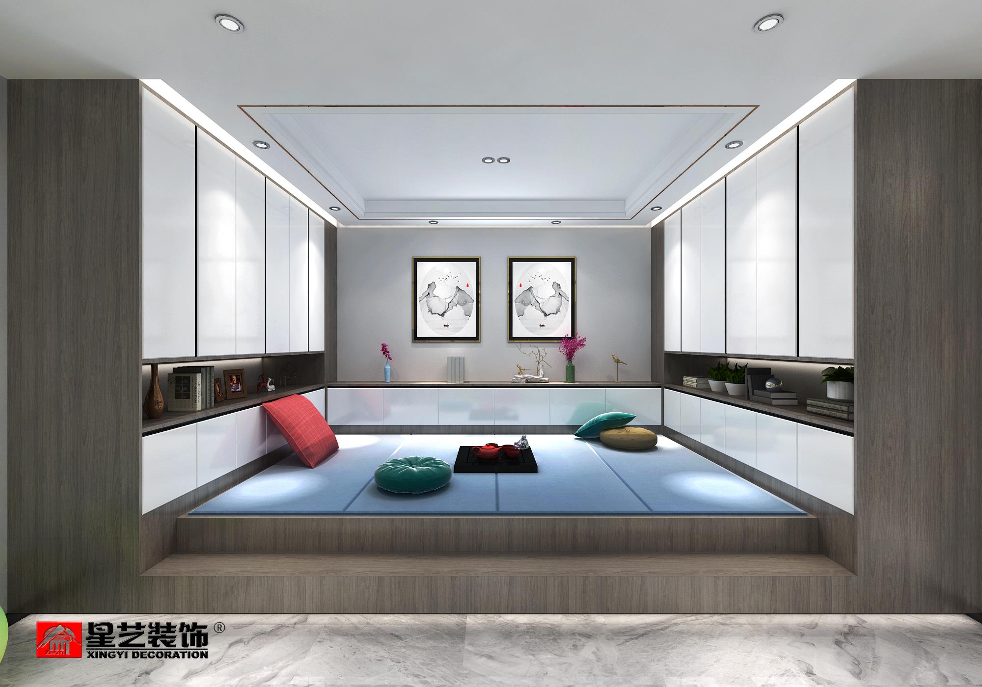 龙湖天琅现代轻奢风格装修设计