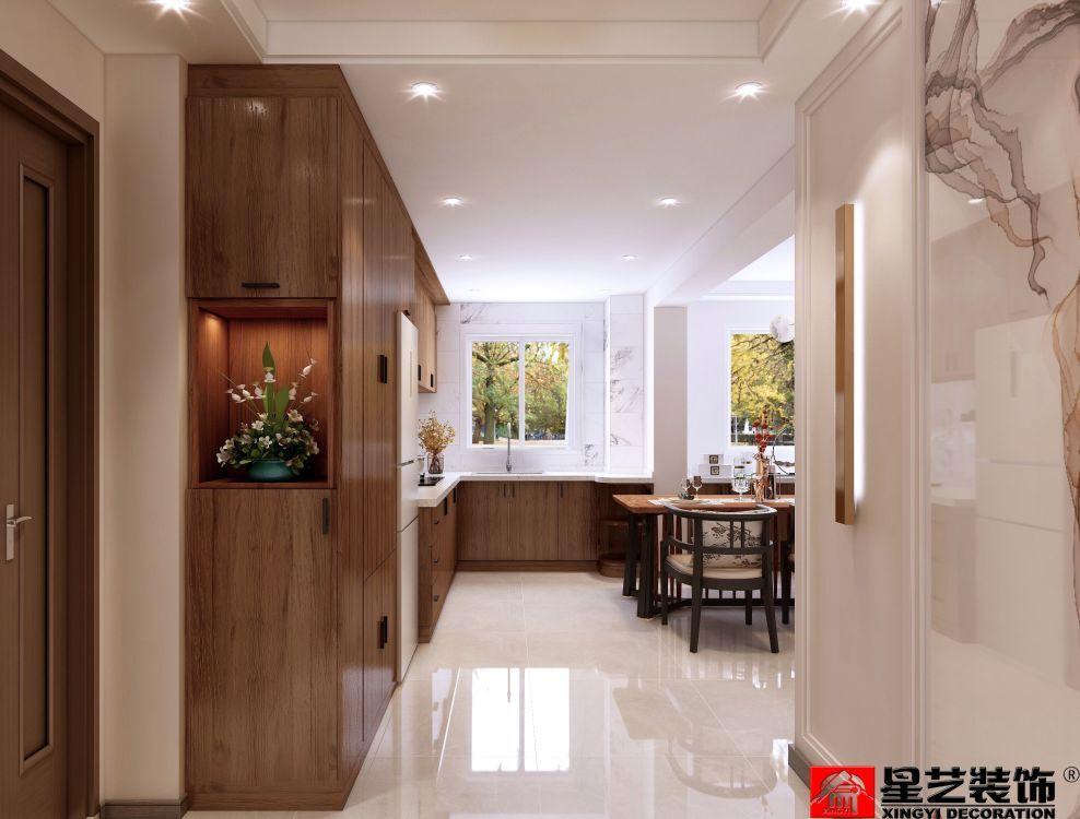 大连新房装修_中冶蓝城中式风格