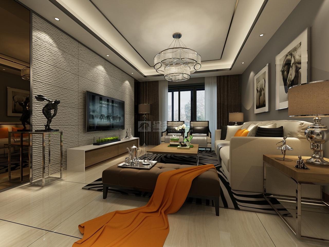 华润国际简约,简约,单身公寓,125.0㎡