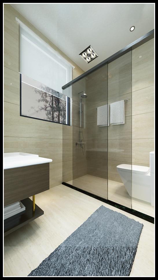中天托斯卡纳栋号,美式,一居室,0.0㎡