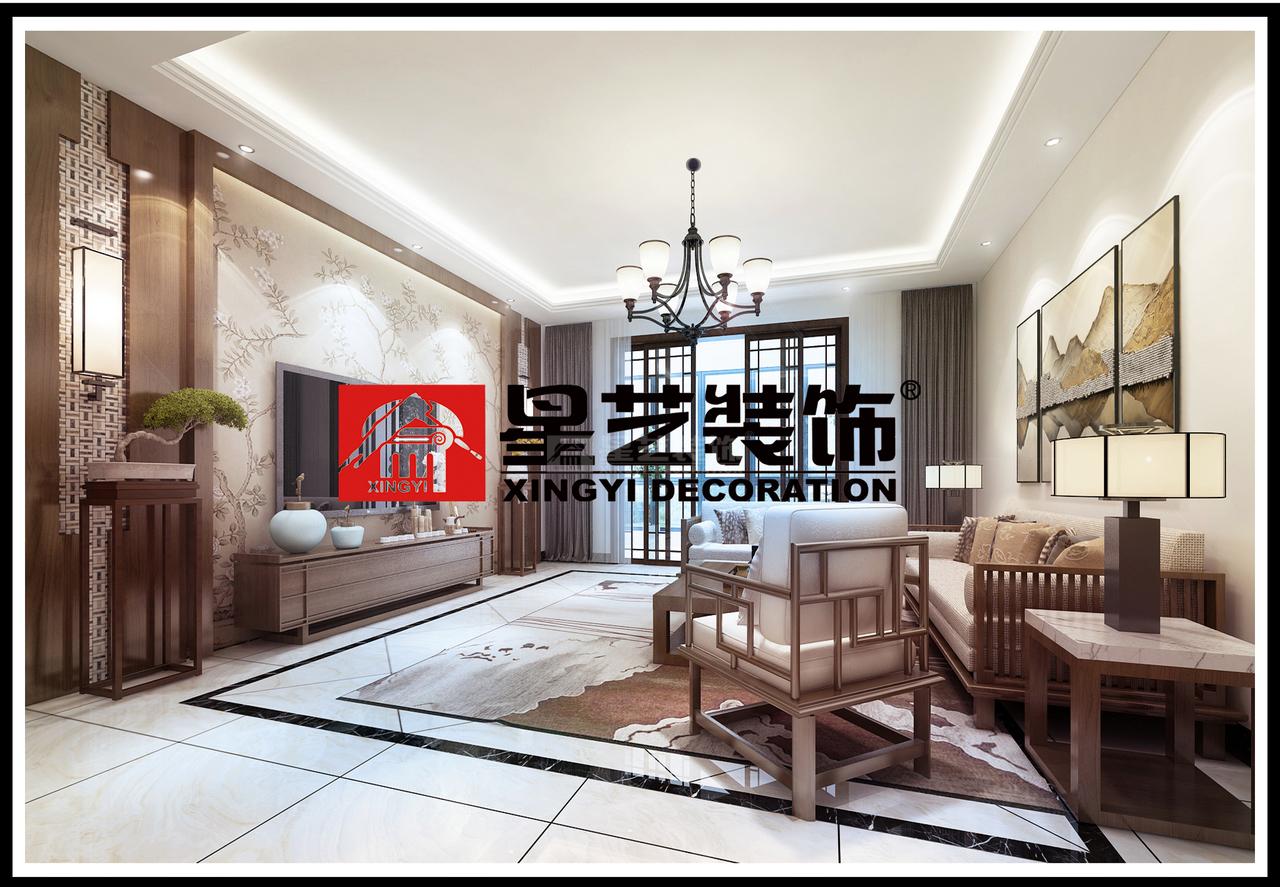 美的林城时代二期,新中式,四居室,140.0㎡