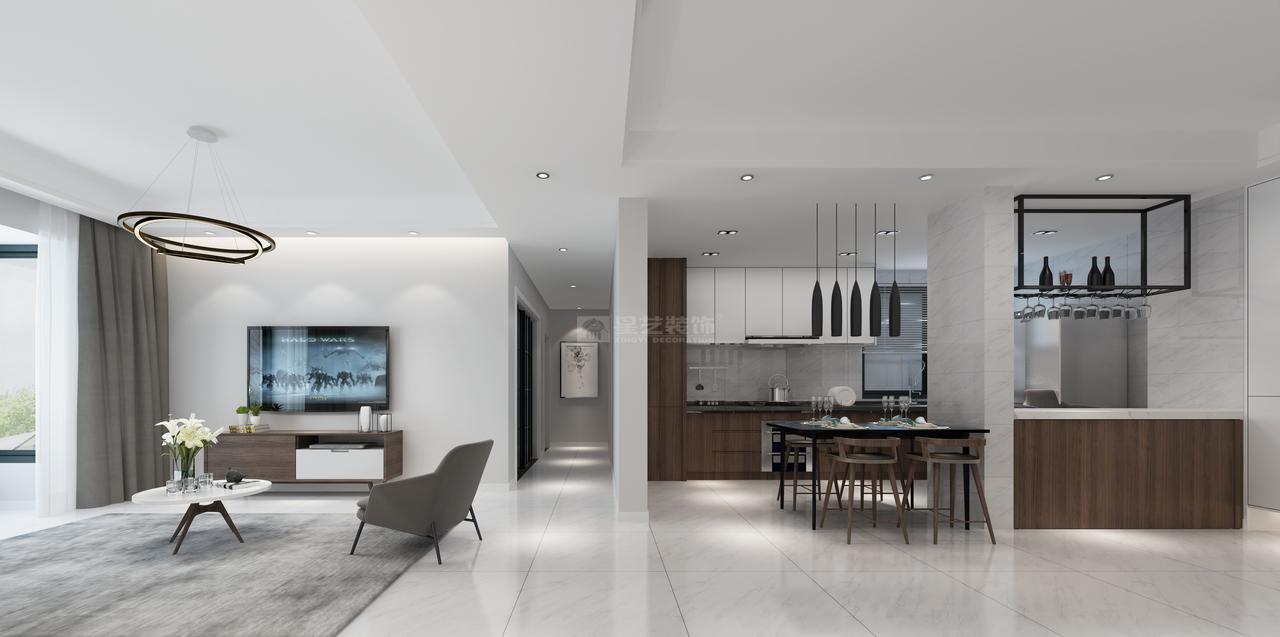 世纪南山G栋简约,后现代,单身公寓,120.0㎡