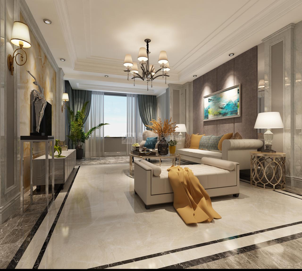 万科玲珑湾,后现代,一居室,0.0㎡