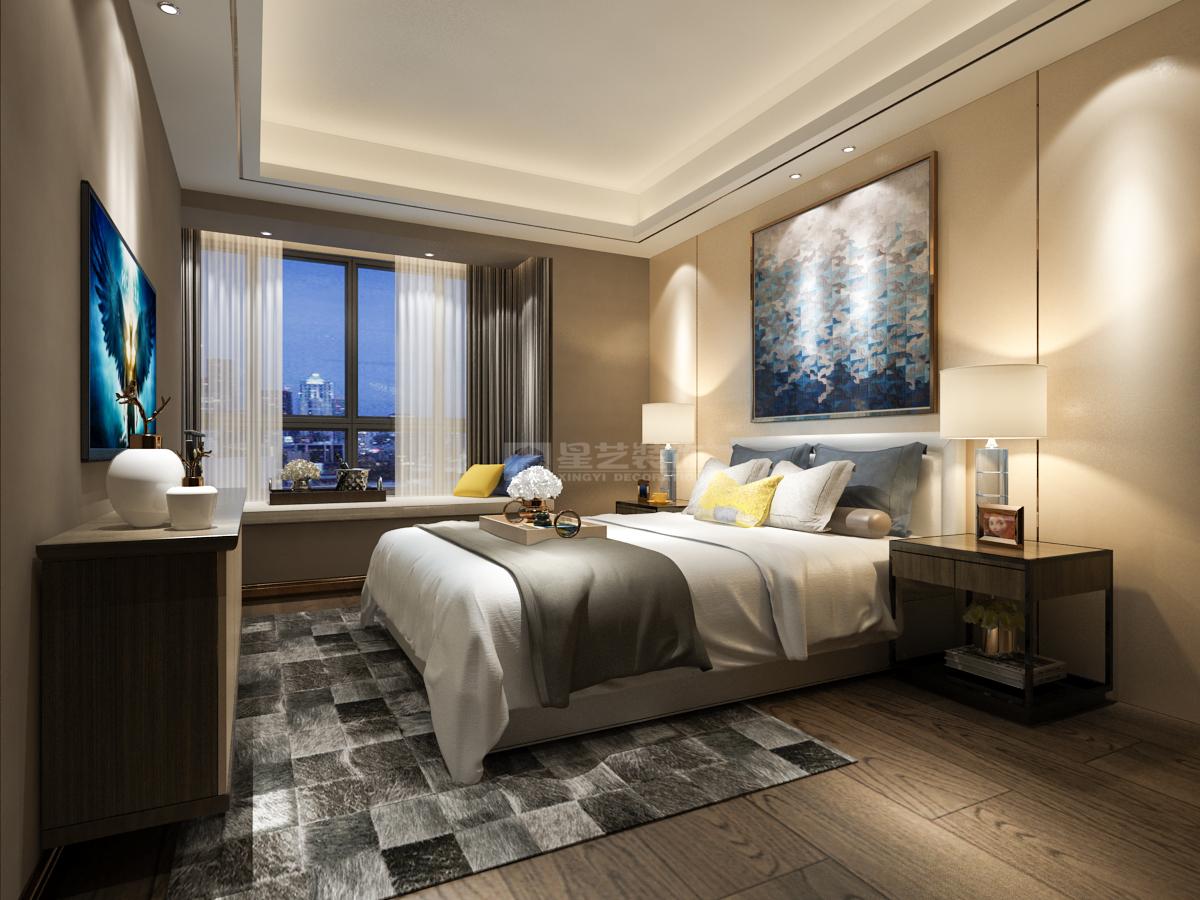 贵阳中铁逸都新房装修意在营造新时代中国式的优雅奢华空间,田园,复式跃层,280.0㎡