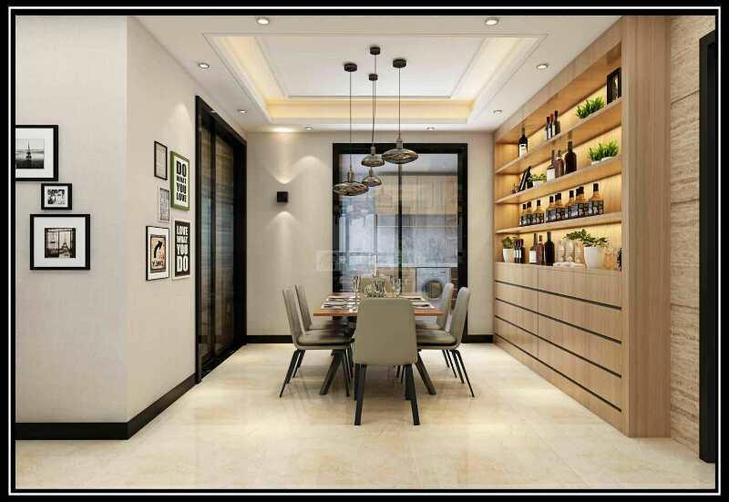 美的林城时代,简约,四居室,180.0㎡