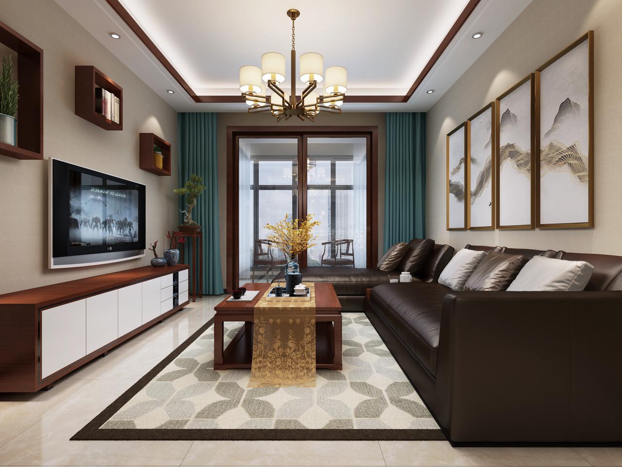 美的林城A,中式,一居室,0.0㎡