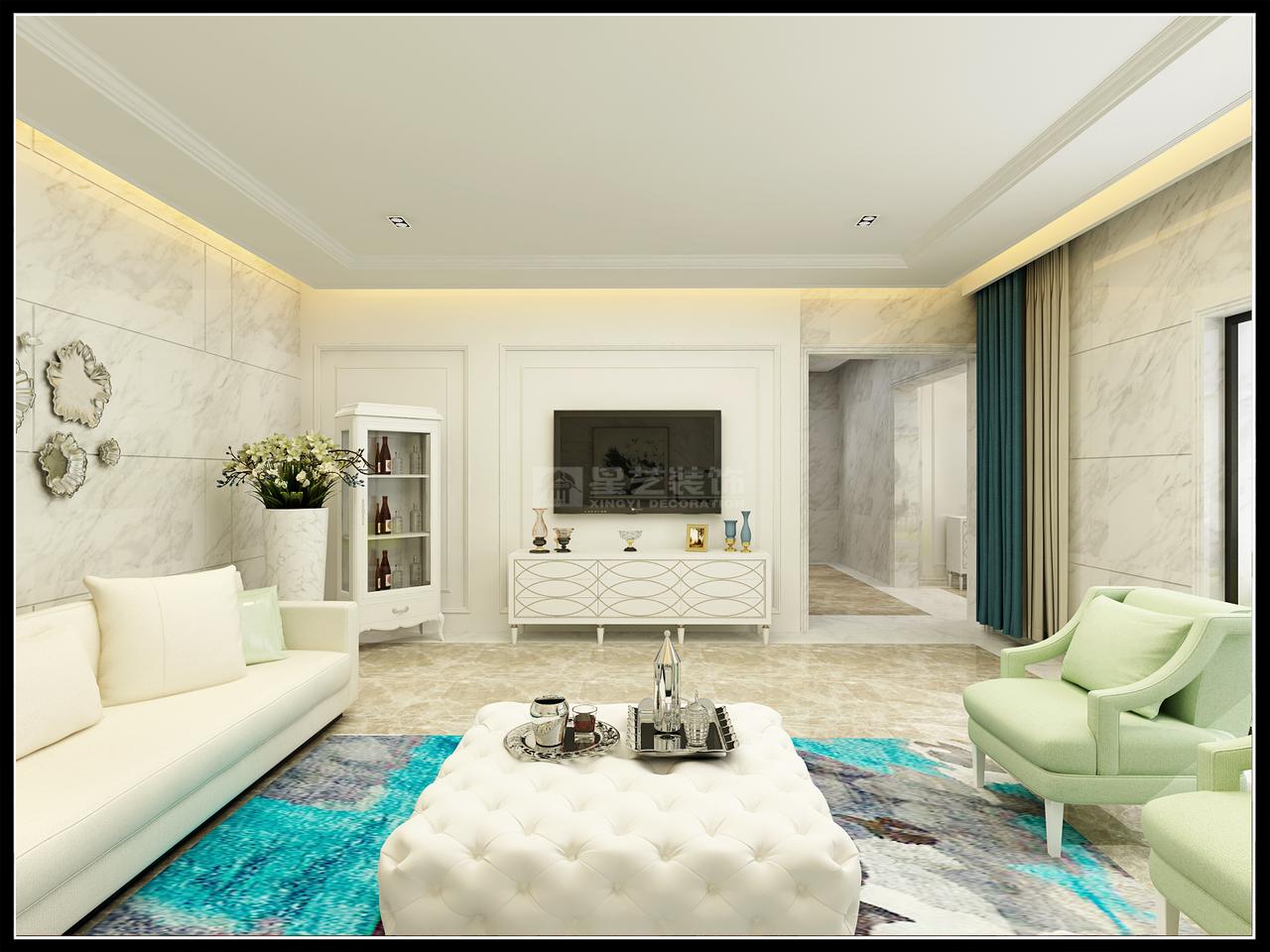 保利溪湖平现代欧式风格,现代简约,其他户型,300.0㎡