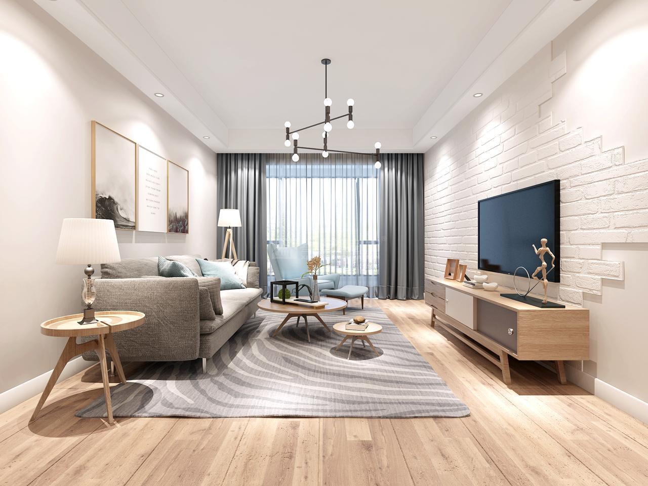 美的林城简约,简约,单身公寓,145.0㎡