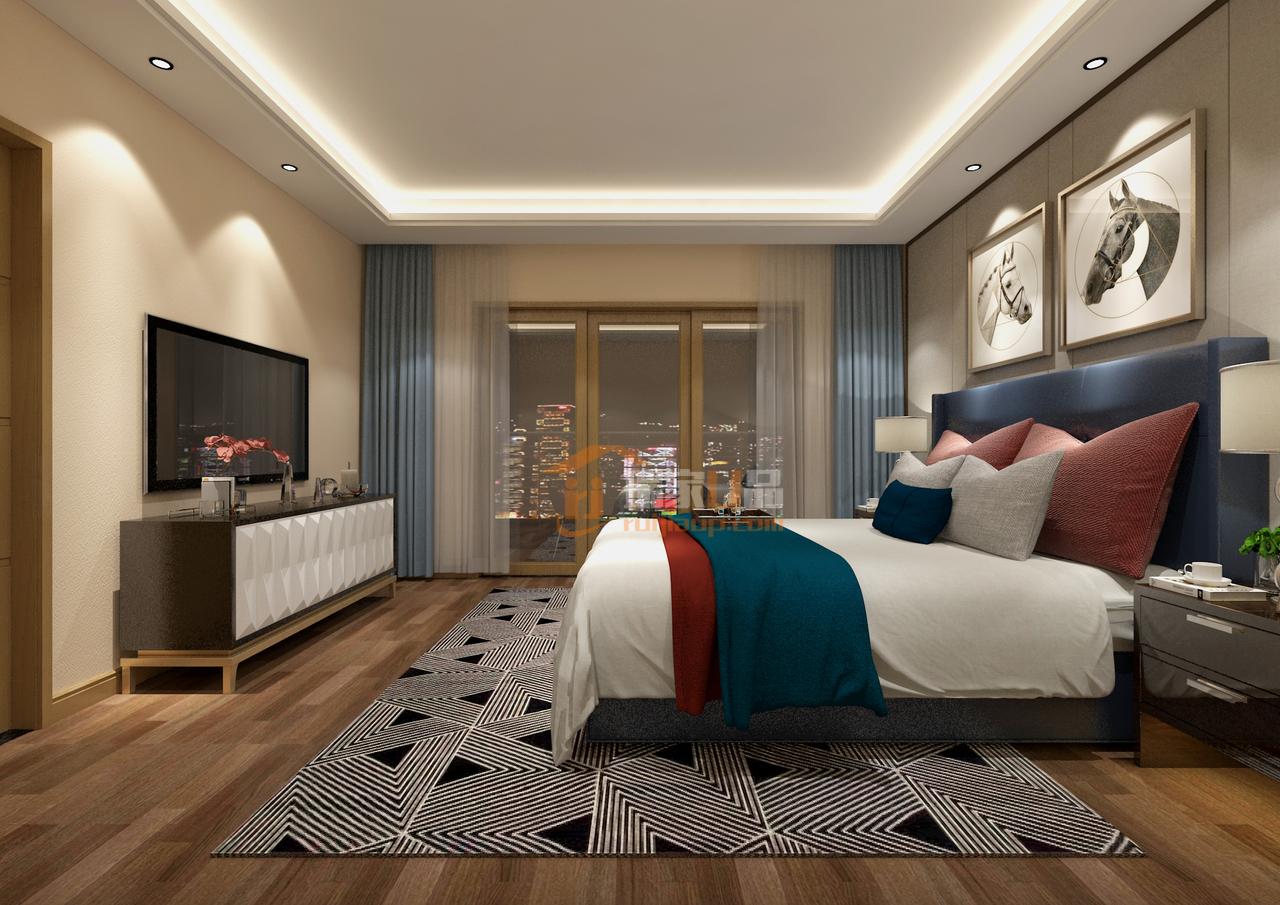 中天未来方舟鲜有璀璨奢华元素的北欧风装修效果图,,,500.0㎡