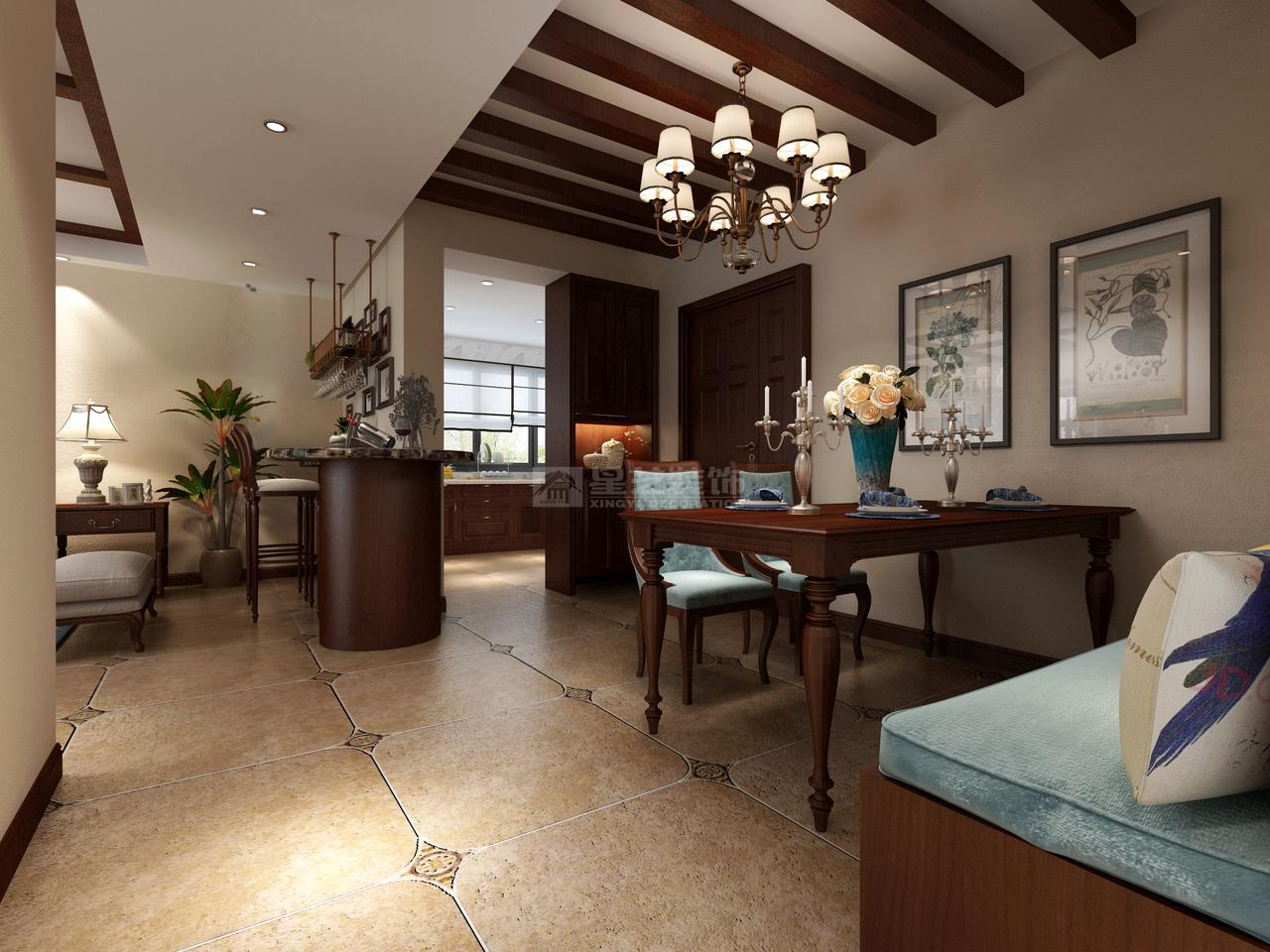 珠江湾畔诺丁山中式,中式,单身公寓,150.0㎡