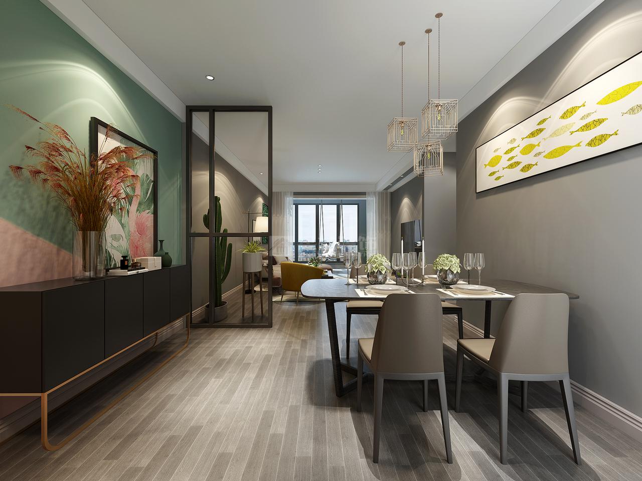 中铁阅山湖,韩式,单身公寓,120.0㎡
