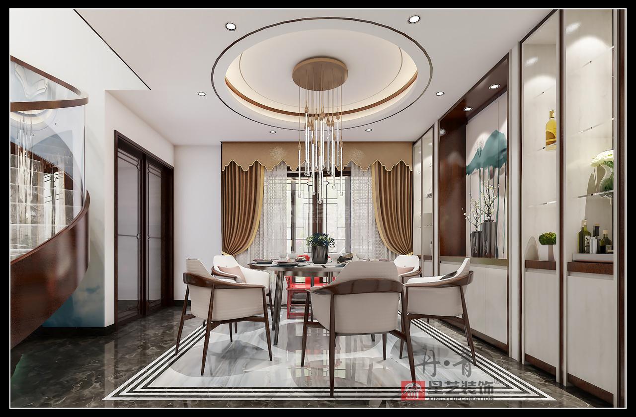 红树东方彤馨洲新中式,美式,四居室,400.0㎡