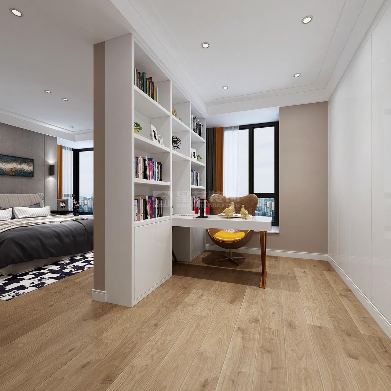 睿力上城现代,现代,三居室,150.0㎡
