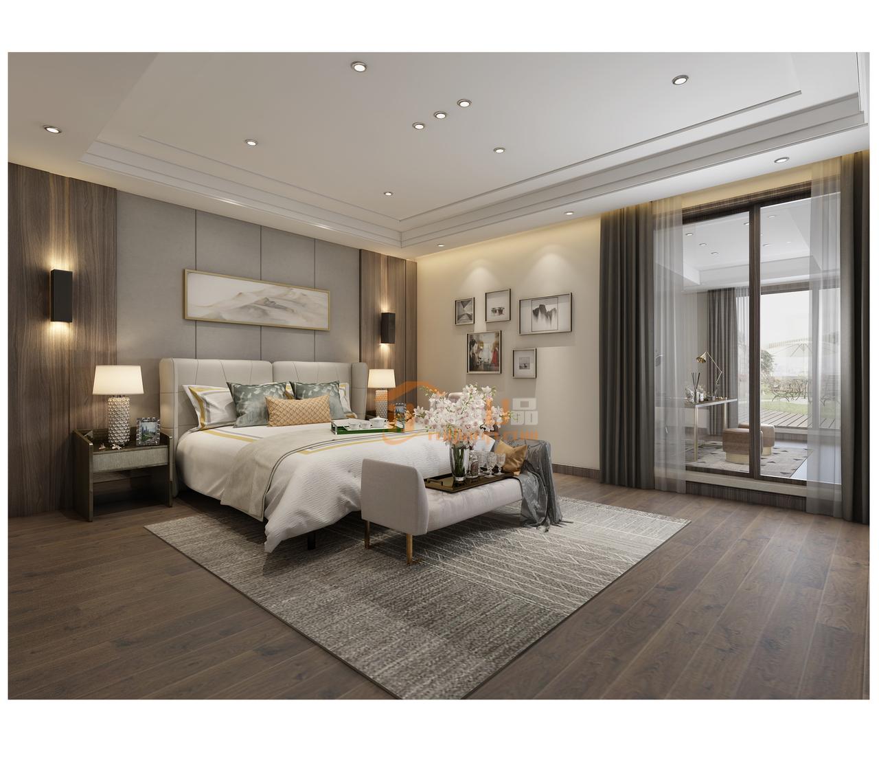 该贵阳新房装修设计的特色是将房屋的原材料、色彩搭配、灯光照明等进行最大化的简化!