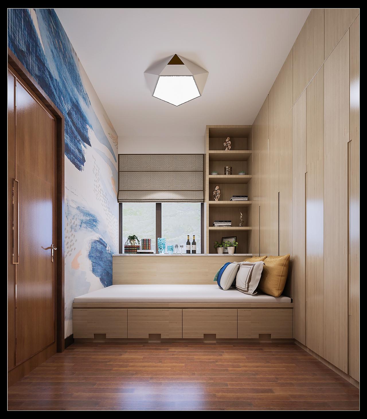 中天未来方舟轻奢新中式,轻奢,单身公寓,150.0㎡