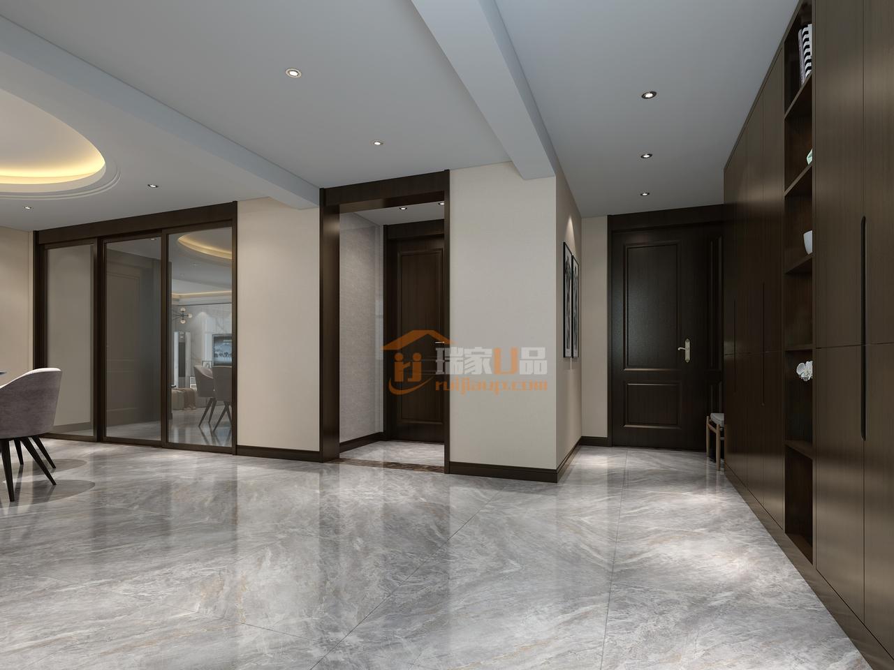 贵阳君悦华庭化繁为简的新房装修,才是幸福!装修设计预约电话:0851-84875896.