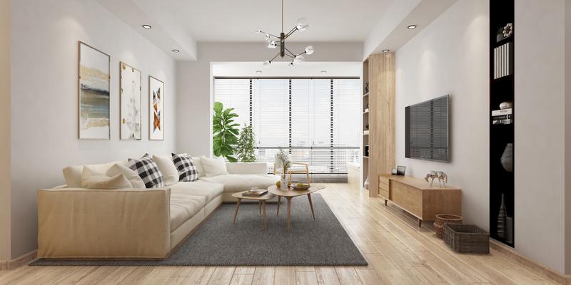 美的林城时代A简约,后现代,单身公寓,㎡