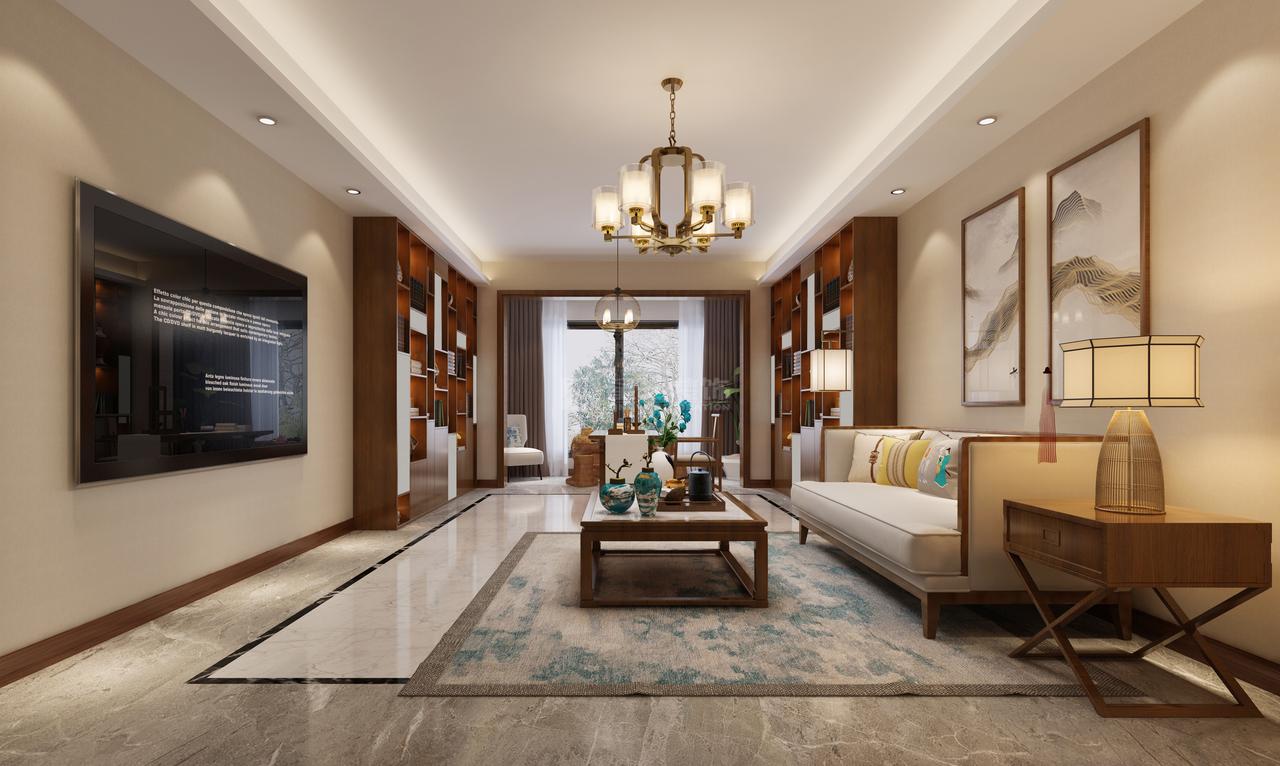 恒大中央公园A区栋新中式,美式,别墅,180.0㎡