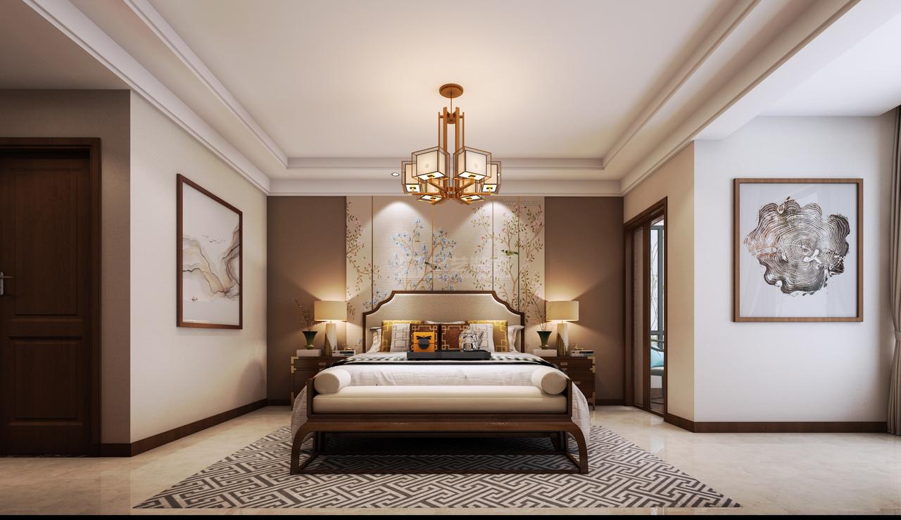 保利温泉期新中式,中式,单身公寓,144.0㎡