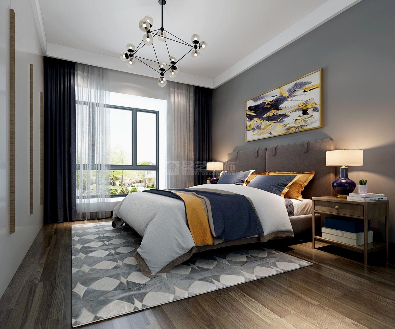 星河社区北欧,北欧,单身公寓,117.0㎡