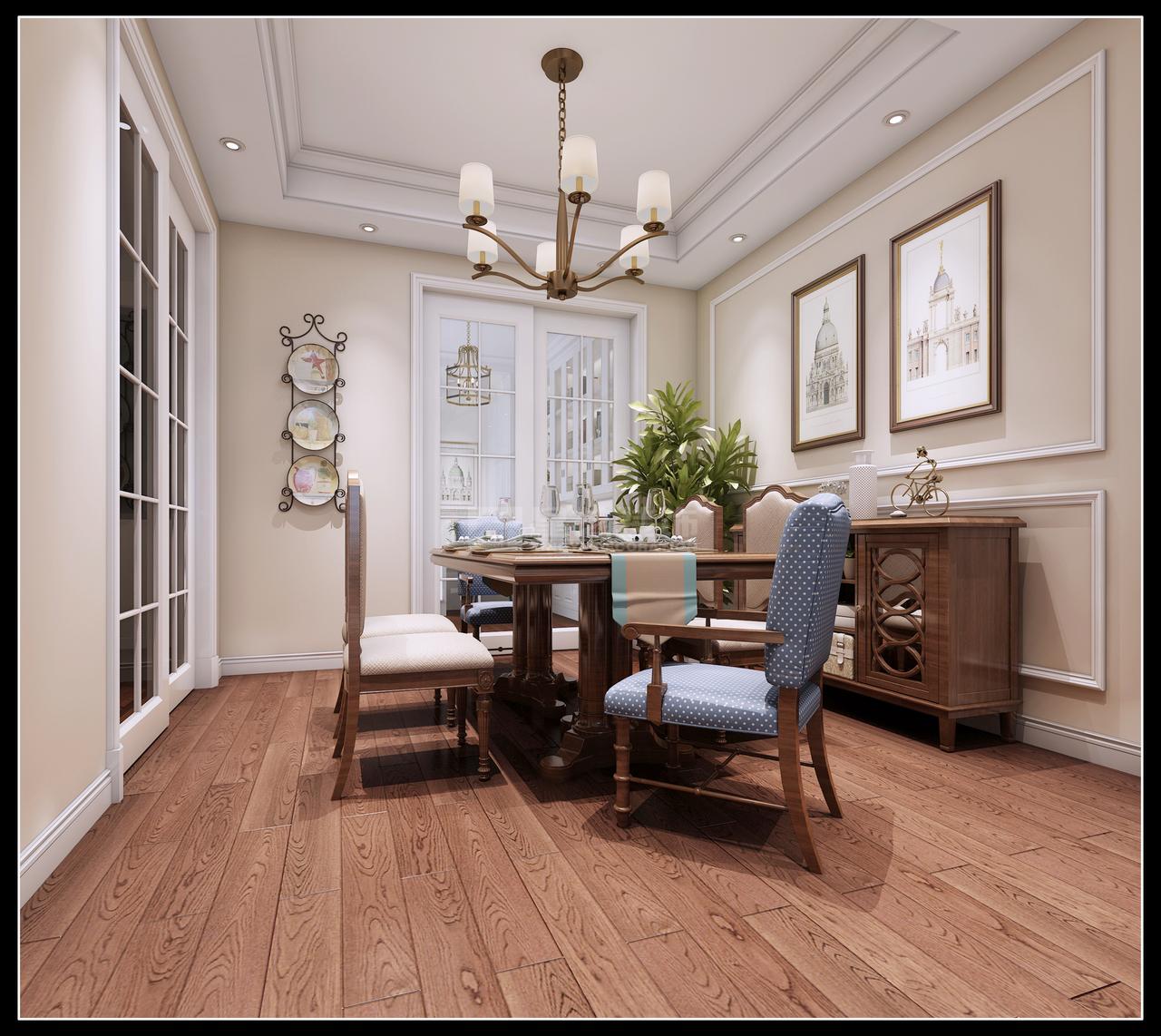 美的林城美景苑A美式,美式,单身公寓,117.0㎡