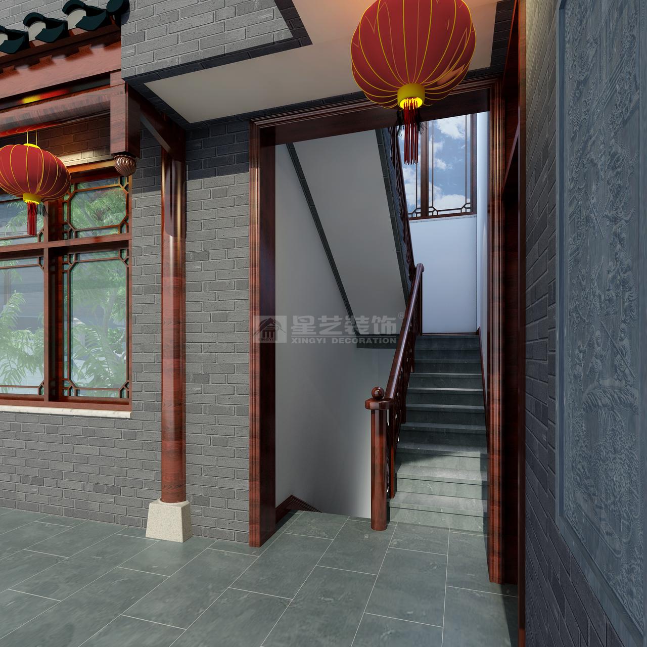 双龙镇云栖谷中式,中式,四居室,380.0㎡