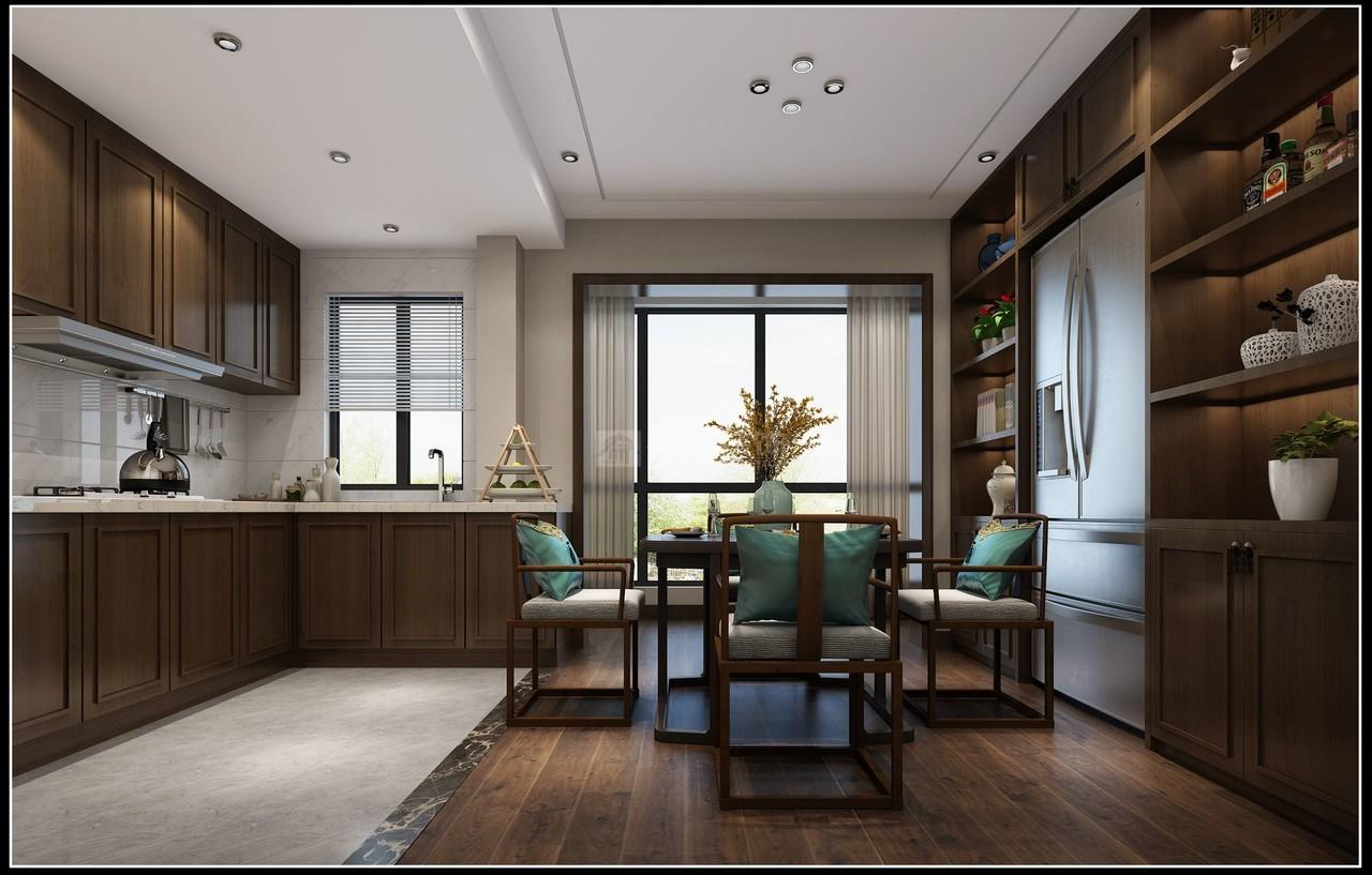 华润国际D区新中式,中式,单身公寓,110.0㎡