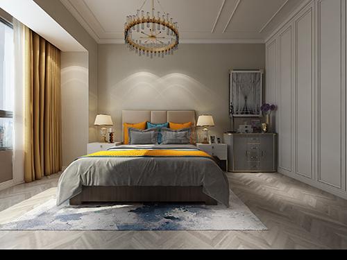 贵阳金阳新世界顶楼装修,现代轻奢风格设计效果图!