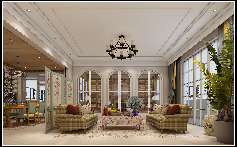 简美风格,简美式风格,贵阳新房装修,装修效果图
