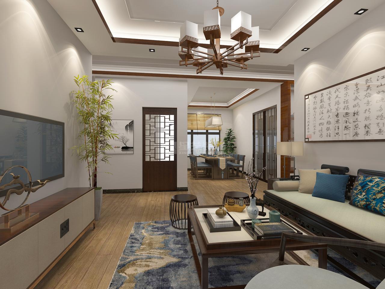 首开紫郡C中式,中式,单身公寓,110.0㎡