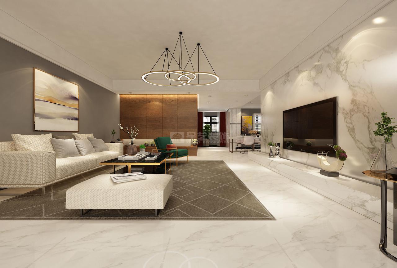 金融城A现代,韩式,单身公寓,130.0㎡