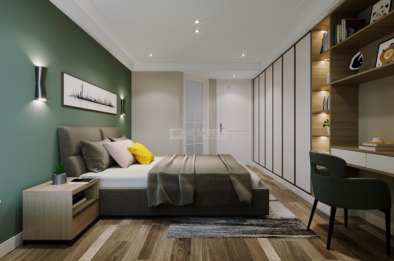 【首开紫郡】舒适自然的北欧风,很难让人不喜爱!,北欧,单身公寓,105.0㎡